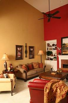 sherwin williams red bay and sherwin williams empire gold interiors by color