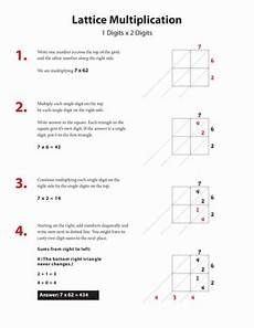 how to do lattice multiplication worksheet education com