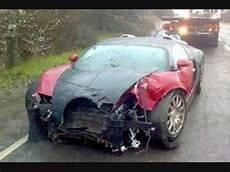 Buggati Veyron Crash by Wrecked Bugatti Veyron Crash