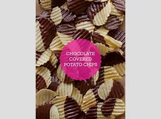 chocolate covered potato chips_image