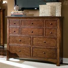 Bureau Dresser Bedroom Furniture by Lea Industries Elite Crossover 10 Drawer Bureau Dresser