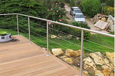 rambarde pour terrasse garde corps inox rambarde terrasse