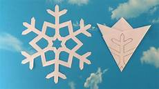 Paper Snowflake 01 How To Make A Paper Snowflakes Step