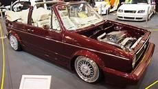 Volkswagen Golf 1 Cabrio Tuning At Essen Motorshow