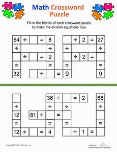 division puzzle worksheets maths puzzles 4th grade math worksheets math division
