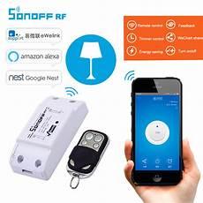 itead sonoff rf wireless wifi switch 433mhz rf receiver
