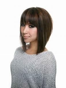 aline haircuts with bangs a line bob haircut with bangs love the cut hair pinterest bobs bob haircut with bangs