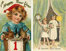 collection of beautiful vintage new years cards what will matter