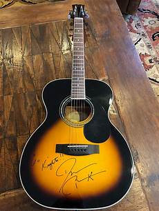 mitchell guitars history mitchell 100s vs acoustic guitar signed by darius rucker w reverb