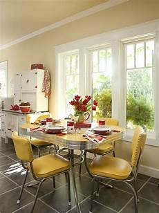 Yellow Dining Room Table