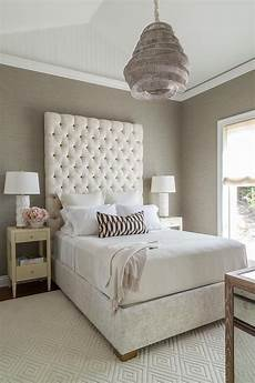 Bedroom Decorating Ideas With Gray Bed by And Gray Bedroom Features A Vaulted Ceiling Accented