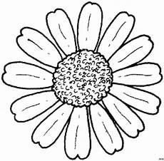 Malvorlagen Blumen Einfach Sonnenblumenbluete Einfach Ausmalbild Malvorlage Blumen