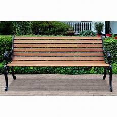 lion park bench cast iron ends 232005 patio furniture at sportsman s guide