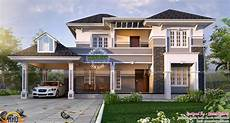 2450 sq ft elegant home plan kerala home design and floor plans