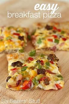 easy breakfast pizza six stuff six stuff