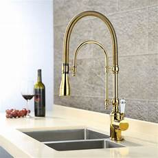 kitchen sink with faucet gold brass kitchen sink faucet