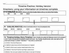 bce and ce timeline worksheet