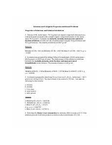 colligative properties worksheet name colligative properties worksheet date 1 for a 0 222 m