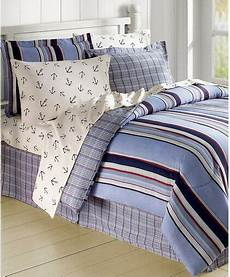 white blue sailboat nautical anchors comforter 6 piece bed in bag ebay