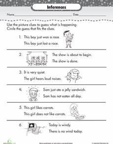 making inferences making inferences inference 2nd grade worksheets