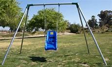 swing sets swing standard 8 ft high residential swing sets