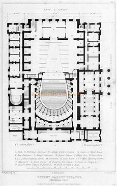 royal opera house covent garden seating plan a plan of the second covent garden theatre from