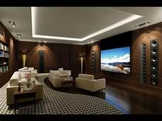Living Room Home Theater Room Design Ideas
