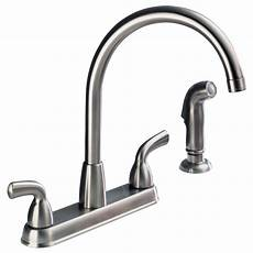 peerless kitchen faucet parts p99578lf ss two handle kitchen faucet with spray