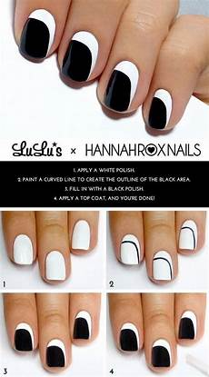 17 easy and cool step by step nail art tutorials