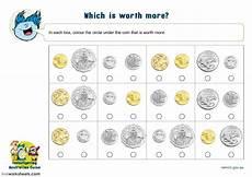 australian money interactive worksheet