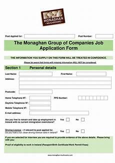 9 application form exles pdf exles