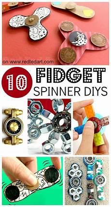 Fidget Spinners Diy 10 Designs Motor Skills