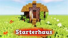 wie baut ein kleines starter haus in minecraft