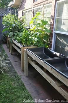 Raised Container Garden