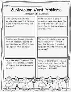 printable word problem worksheets for 2nd grade 11264 1000 images about math on number talks addition and subtraction and math workshop