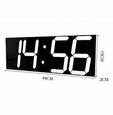 Inch Large Wifi Remote Calendar by Wifi Remote Large Wall Clock Modern Design Smart