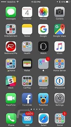 Iphone 7 Plus Hide Dock Wallpaper How To Hide Ios Dock On Iphone Without Jailbreak Redmond Pie