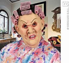 mom puts curlers in boys hair buy mother in law masks with wig curlers fancy dress largest online fancy dress range in