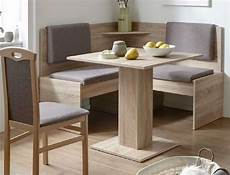 Eckbänke Für Küchen - eckbankgruppe buche grau braun kompakt 2x stuhl tisch