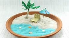 palme selber basteln diy miniaturstrand selber machen sch 246 ne deko idee im