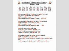 Have Yourself A Merry Little Christmas Tabs-Have Yourself A Merry Little Christmas Now