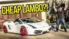 i just bought the cheapest lamborghini in the country