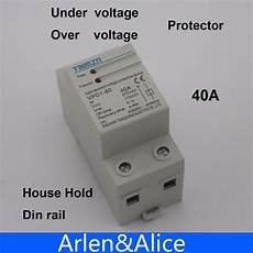Sinotimer 230v Digital Rail Automatic Recovery by Aliexpress Buy 40a 230v Din Rail Automatic Recovery