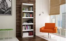 home office furniture deals parana oak white melamine mdp bookcase 3 0 modern home