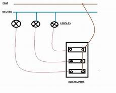 solucionado conexcion de 3 luminarias a 3 teclas desde un toma solo yoreparo