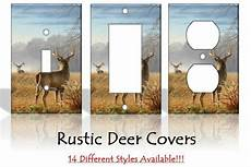 home decor outlet rustic deer outdoors light switch covers home decor outlet