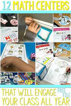 worksheets kindergarten 15528 12 math centers that will keep your kiddos engaged all year plus a free file math center