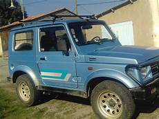 Suzuki Samurai 4x4 Bleu Essence Occasion De Centre
