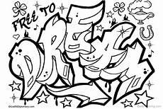 Ausmalbilder Kostenlos Ausdrucken Graffiti Graffiti Coloring Pages Letters Drawing Free