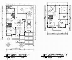 41 Info Baru Denah Rumah 2 Lantai Yang Unik